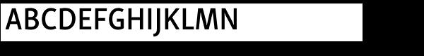 Skolar Sans PE Condensed SemiBold  What Font is