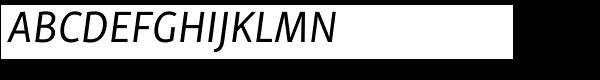Skolar Sans PE Italic  What Font is