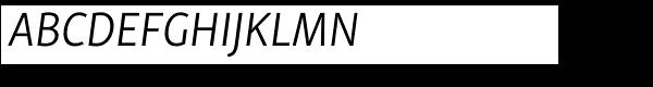 Skolar Sans PE Light Italic  What Font is