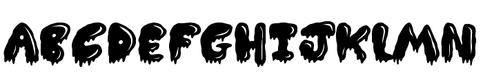 Slimed  What Font is