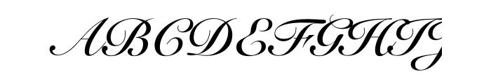 Optisicilia bold font Roundhand calligraphy