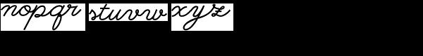 So Prolix Bold Font LOWERCASE