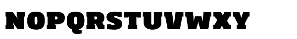 Soho® Std Ultra Font UPPERCASE