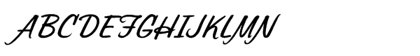 Sonora Pro Bold Italic  What Font is