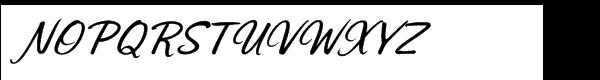 Sonora Pro Medium Italic Font UPPERCASE
