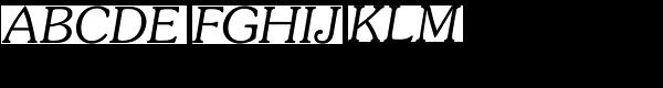 Souvenir Light Italic  What Font is