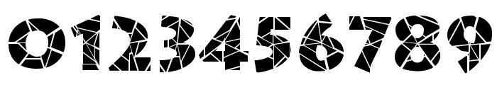 Spider Web Block Normal Font OTHER CHARS