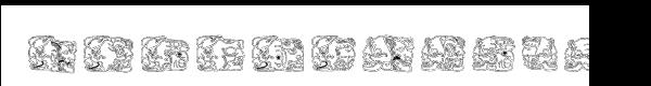 Spirit of Montezuma Five  What Font is