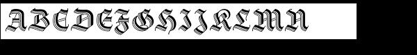 Staufer Gotisch  What Font is