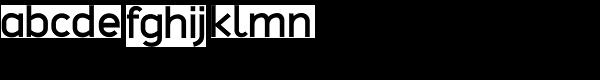 Sterk Semi Bold Font LOWERCASE
