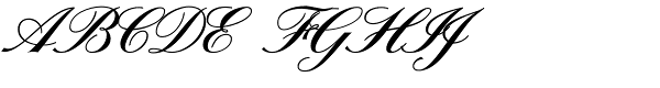 Sterling Script  What Font is