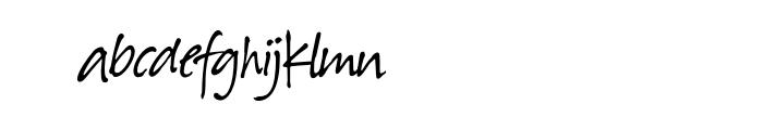 Suomi Hand Script OT Font LOWERCASE