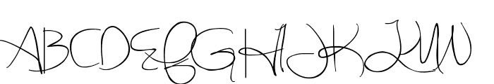 Sweetly Broken Font UPPERCASE