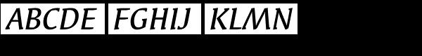 Syndor ITC Medium Italic  What Font is