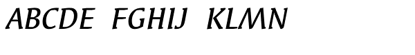 Syndor ITC MediumOsF Italic  What Font is