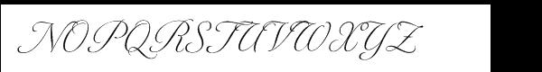 Tangier Light Font UPPERCASE