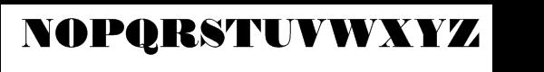 Thorowgood Regular Font UPPERCASE