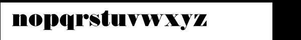 Thorowgood Regular Font LOWERCASE