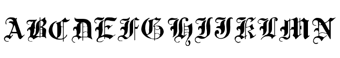 Traditional-Gothic--17th-c-  What Font is