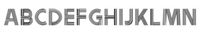 Tribbon B Font LOWERCASE