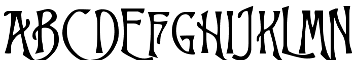 Trinigan FG  What Font is