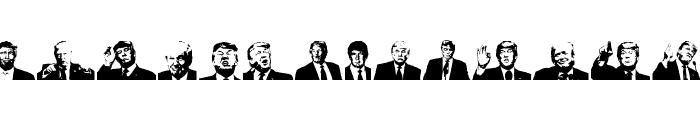 Trump-Regular  What Font is