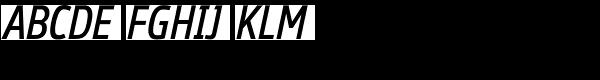Ubik Condensed Italic  What Font is