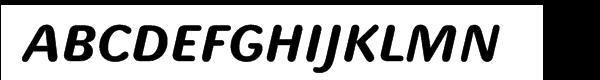 Ulissa Rounded Bold Italic Fuentes Gratis Descargar