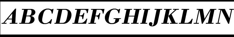 URW Bodoni M Bold Italic  Free Fonts Download
