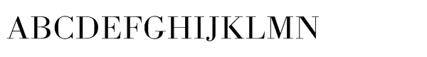 URW Bodoni Std Light Extra Wide  What Font is
