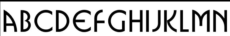 URW Busorama Bold Free Fonts Download