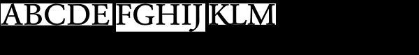 URW Garamond Wide Medium  What Font is