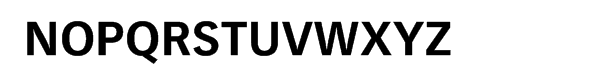 Vectora® Pro Bold Font UPPERCASE