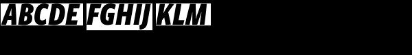 Vista Sans Narrow Black Italic  What Font is