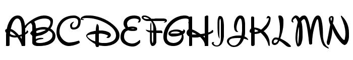 Walt Disney Script  What Font is