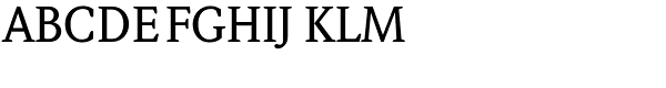 Weidemann Std-Medium Font UPPERCASE