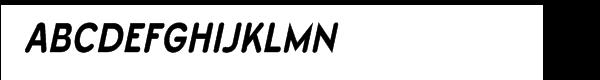 Wevli Condensed Bold Italic font caratteri gratis