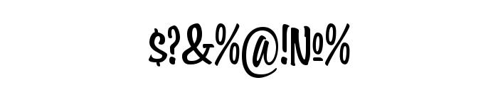 Wonder Brush Font OTHER CHARS