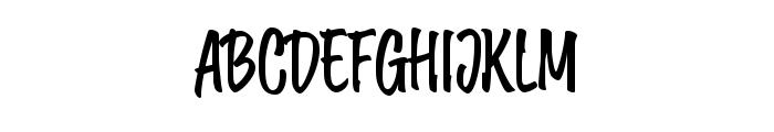 Wonder Brush Font UPPERCASE