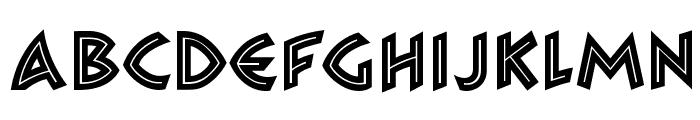 Zambesi MN Font LOWERCASE