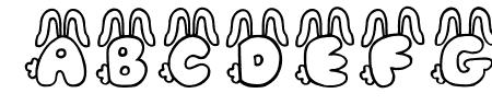 JI Bunny Caps Sample