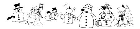 KR Snow People Sample