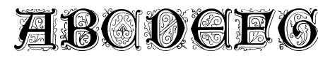 Genzsch Initials Sample