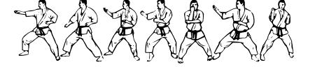 McCoy Dingbat Karate Sample