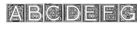 Mosaic_Initials Sample