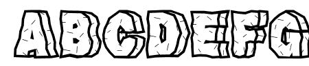 RockFont Sample