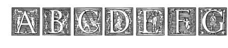 Picto Glyphs Sample