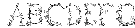 Fleurs de Liane Sample