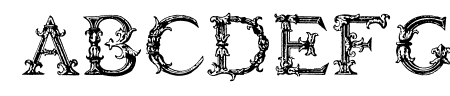 Burgoyne_Initials Sample