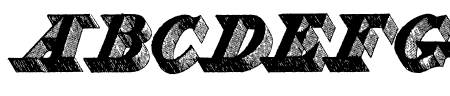 Engravier_Initials Sample